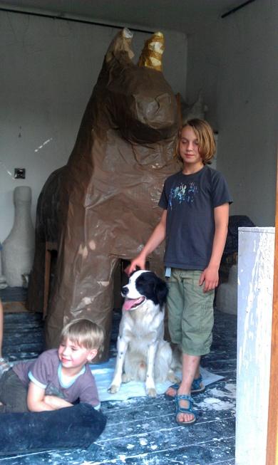 big pinata HORSE with MAT, IGI  & SPARROW
