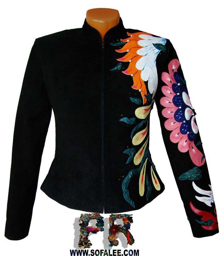 Замшевая куртка с капюшоном. Jacket leather womens Esse 11.jpg (877×1000)