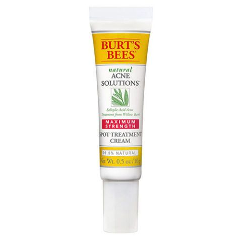 $13 BUY NOW Aide acne scars with a little help from Mother Nature. This acne scar solution from Burt's Bees features a blend of licorice root, tamanu oil, and willow bark that works to reduce irritation and purify clogged pores. More: Post-Acne Scar Creams to Reduce Dark Spots