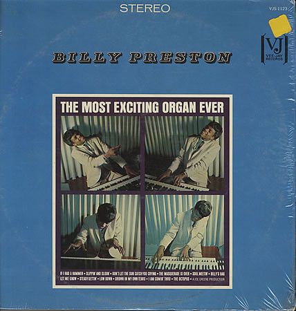 Billy Preston - The Most Exciting Organ Ever (Vinyl, LP) at Discogs