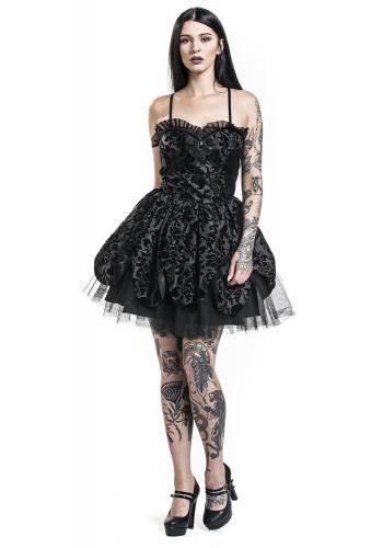 "Miniabito ""Petal Dress"" del brand #HellBunny."