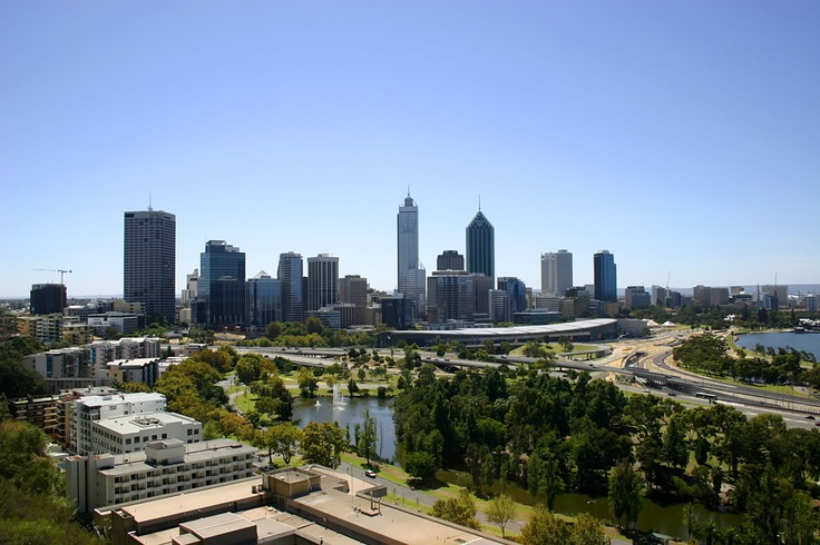 The beautiful city of Perth