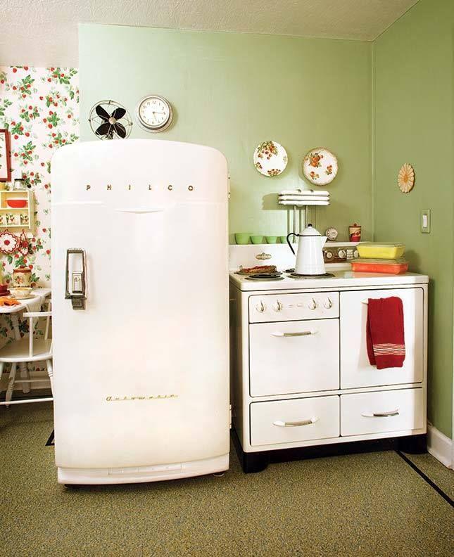 Cute Olde Timey Kitchen