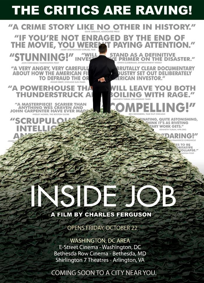 Inside Job Reaction Paper