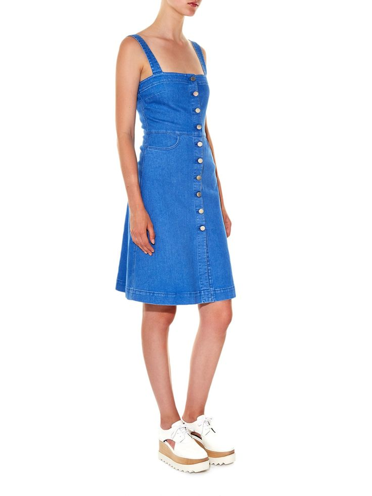 Linda denim pinafore dress | Stella McCartney | MATCHESFASHION.COM