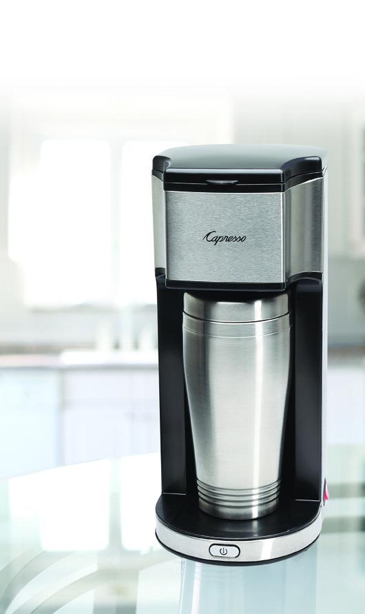 @Capresso On-the-Go Coffee Maker Review #Christmasgiftidea