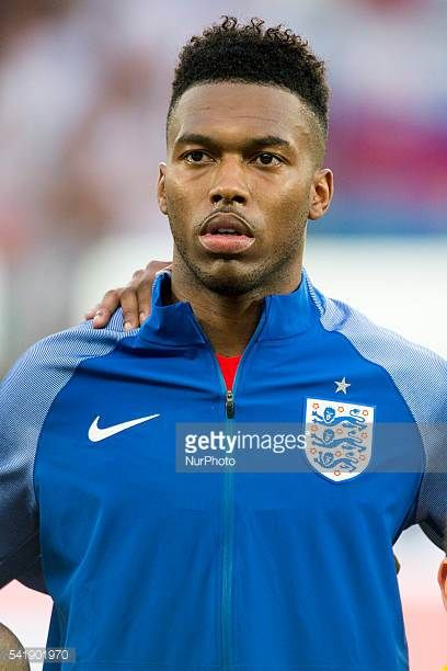 Daniel Sturridge of England before the UEFA Euro 2016 Group B match between Slovakia and England at Stade Geoffroy Guichard in SaintEtienne France on...