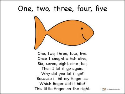 558 best preschool songs and poems images on pinterest for Fish songs for preschoolers