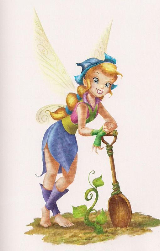 Pixie Hollow Cast - GARDENIA