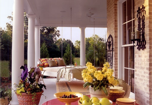 classic Southern Charm: Southern Living, Beds, Outdoor Living, Porches, Outdoor Spaces