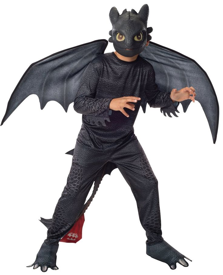 How to Train Your Dragon 2 - Night Fury Toothless Kids Costume from Buycostumes.com