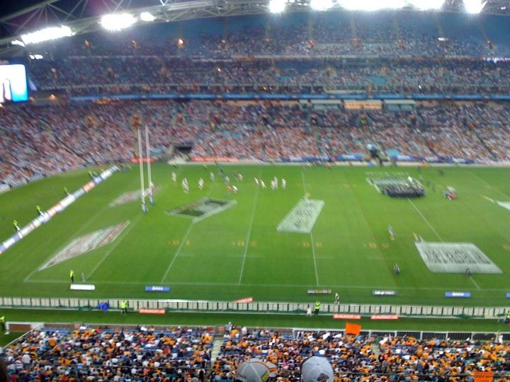 NRL Final Wests Tigers v St George Illawarra Dragons