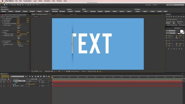 In this short After Effects tutorial, we show you how to quickly and easily create the cut effect we used in https://motionarray.com/after-effects-templates/slit-title-5325 . Since this effect is created all on a single layer, you can easily save out a preset that you can have for later use. Want to see more tutorials? Check them out here: https://motionarray.com/tutorials/ Thanks! The MA Team