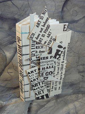 making handmade books secret belgian binding goes sculptural