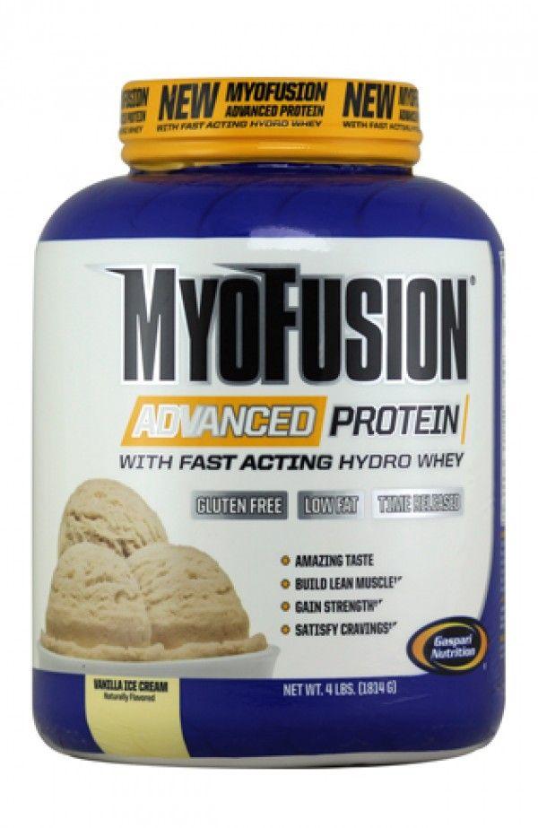 Gaspari Nutrition MyoFusion Advanced Protein - Vanilla Ice Cream 4Lbs