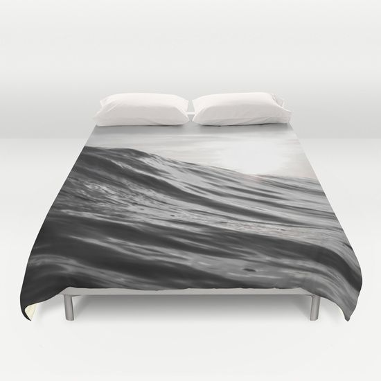 #water #ocean #sea #wave #motion #nature #smooth #surf #surfing #duvet #cover #homedecor