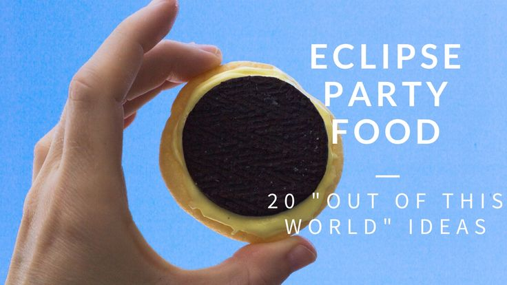 moon cookies. space party food ideas. Eclipse party food