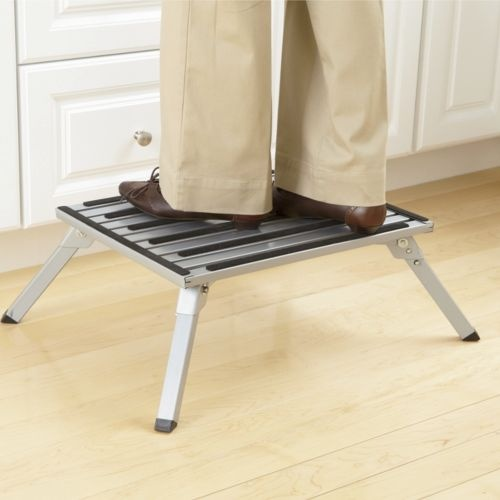 Extra Wide Folding Step Stool From Seventh Avenue