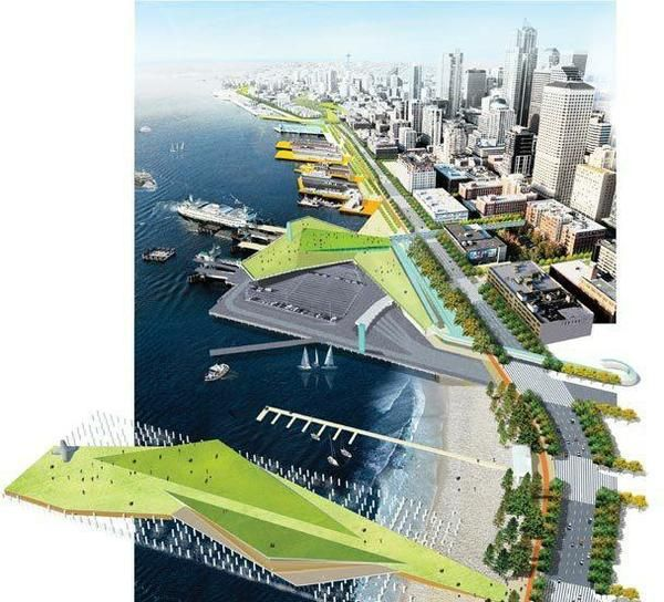 144 best masterplan waterfront images on pinterest for Waterfront landscape design