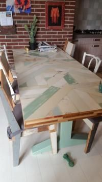 Dusign sloophout tafels