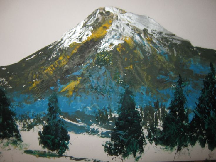 The mountain in Armenia