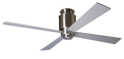 lapa ceiling fan (on sale at ylighting.com)