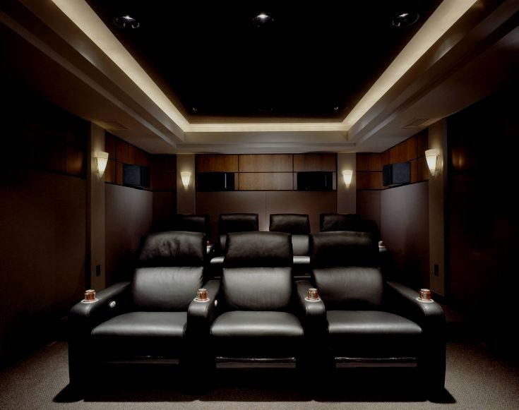 25 Inspirational Modern Home Movie Theater Design Ideas Small