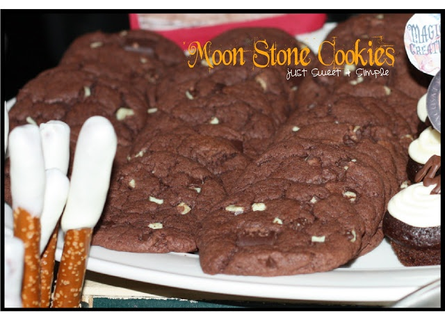 just Sweet and Simple: Harry Potter Moon Stone Cookies