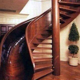 Best slide Eva!!!  LOL: Spirals Staircases, Walks, Spirals Stairs, Future House, Dreams House, Sliding Stairs, I Want This, Kids, Stairs Sliding