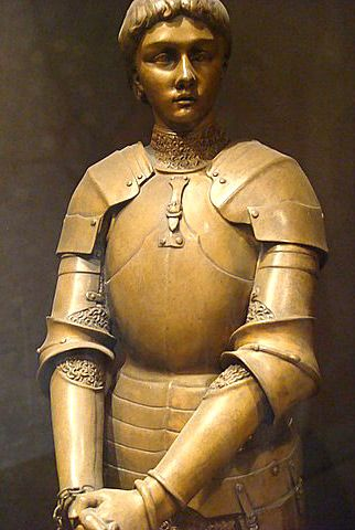Statue of Joan of Arc in Rouen by Louis Ernest Barrias