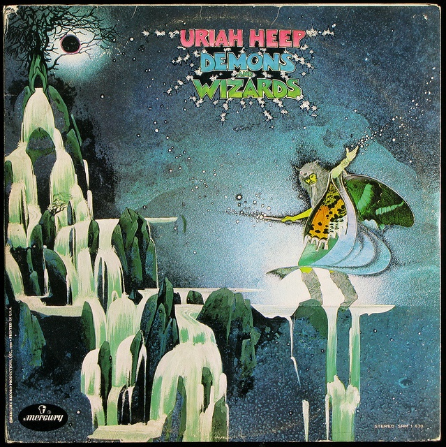 Uriah Heep - Demons and Wizards by ubbu, via Flickr