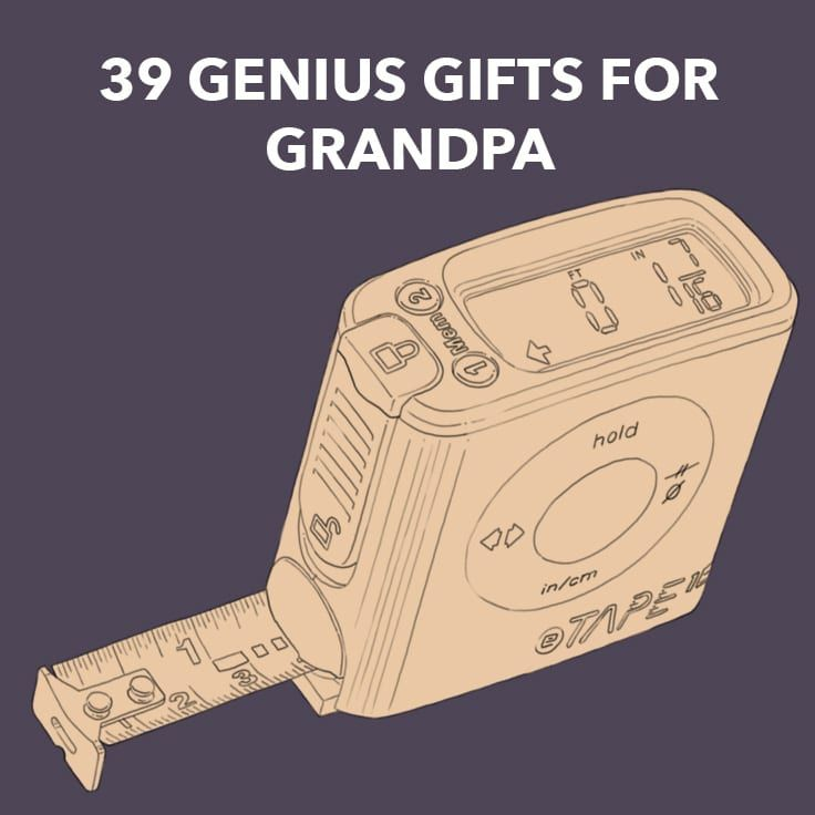 39 genius gifts for grandpa unique gift ideas hell