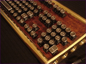 steam punk keyboard