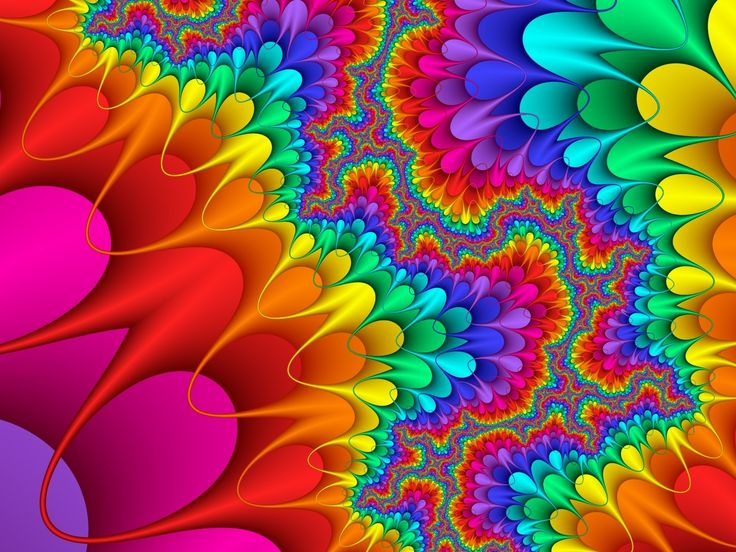 Colorful Food Wallpaper Free Download: Beautiful High Resolution Wallpapers: Psychedelic Art