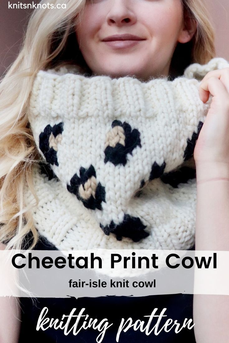 Super chunky knit cowl worked in the round! This pattern ...