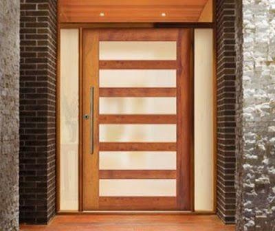 Dise os de puertas pivotantes muy interesantes ideas - Diseno de puertas ...