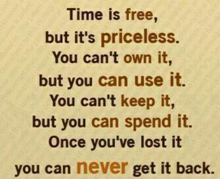 time is precious inspirational quotes to live by pinterest