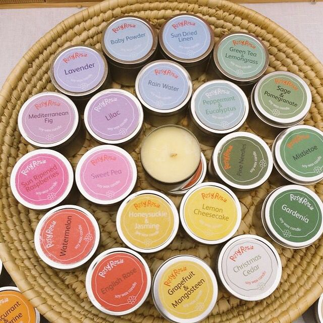 Today I am musing over potential new scents to add to my candle collection. I already make 29 different scents but there is always room for a few more! #handmade candles #soywax #soywaxcandles #scentedcandles #rosyrosiedaytoday