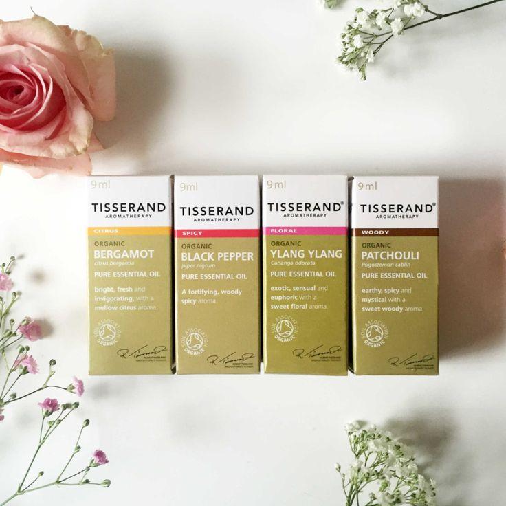 Tisserand essential organic oils