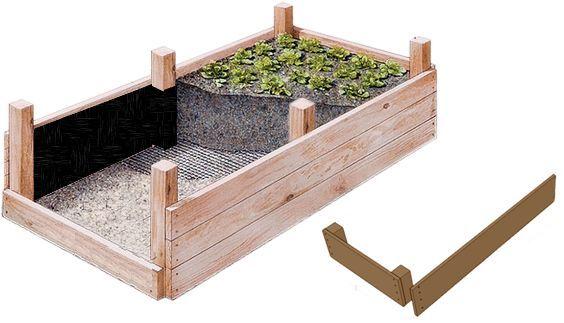 Hochbeet Bauanleitung | Selber bauen
