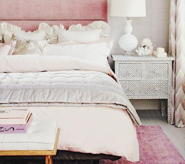 5 Feng Shui Bedroom Photos We Love Padded headboards, Bed in and