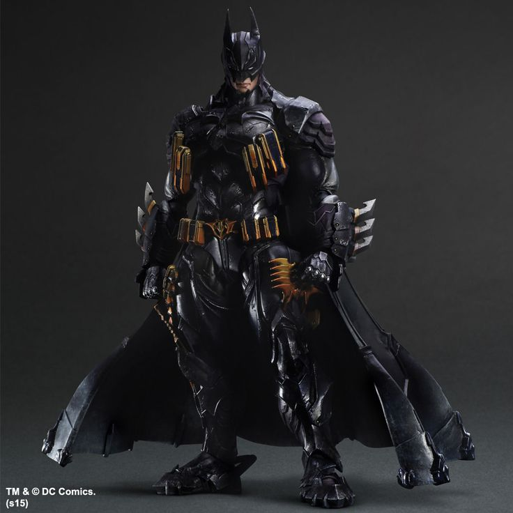 DC Comics Variant Play Arts Kai figurine Batman Armored Square-Enix