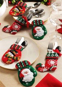 para la mesa de Navidad
