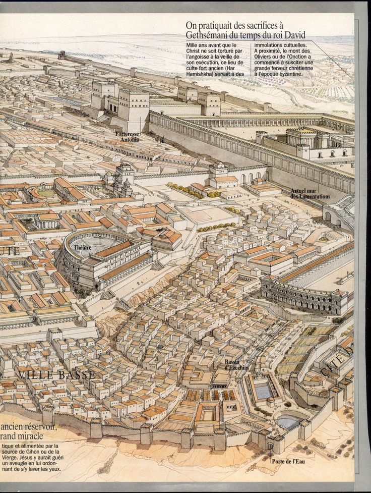 Jerusalem of Herod the Great 37 BC