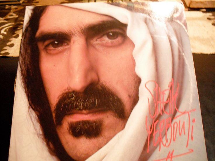 Frank Zappa Sheik Yerbouti On Zappa Records 1979