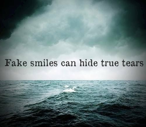 quotes about fake smiles - photo #38