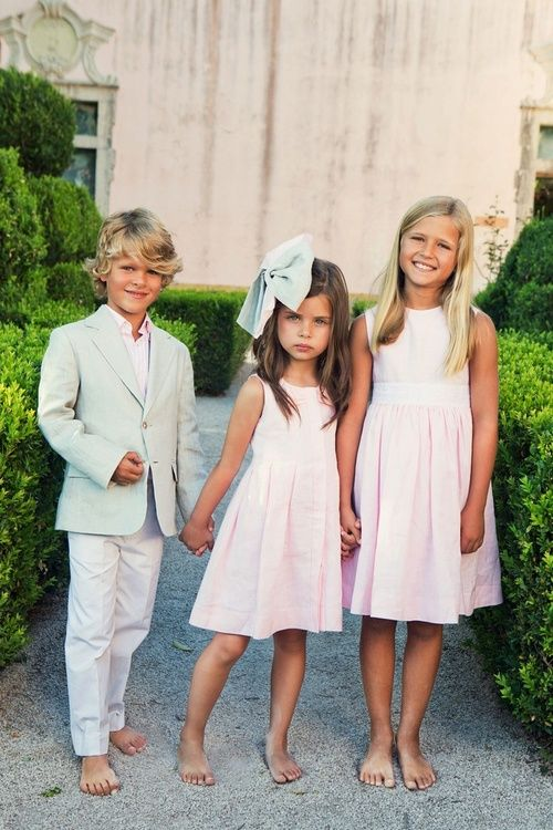 cute sibling pic! idk why i like the cute dresses and the dusty feet so much?