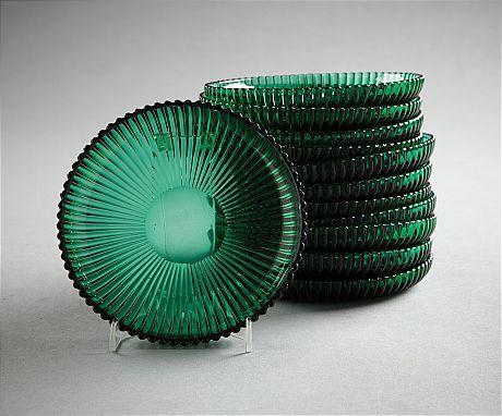 "Mia :0) I love these Assietter.. Gullaskruf ""Räffla"", Artur Percy, 1950-tal, diameter 14 cm"