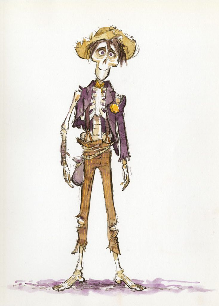 The Art of Pixar 39 s Coco Character