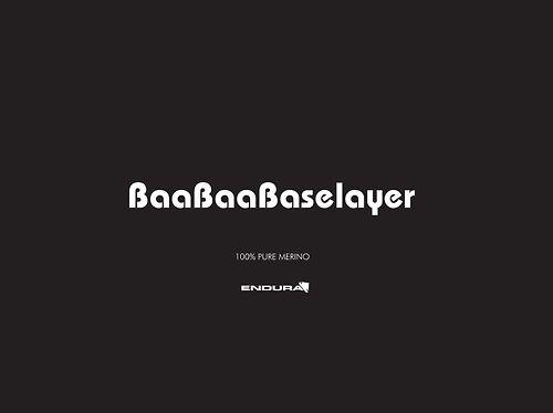 Endura pitchwork, baabaa base layer brand identity concept development